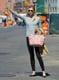 Karlie Kloss Carrying Louis Vuitton