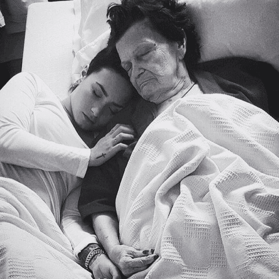 Demi Lovato Instagram Post About Great-Grandmother 2016