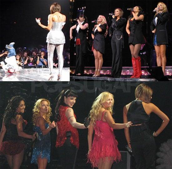 Cruz Beckham Breakdancing at Spice Girls Concert
