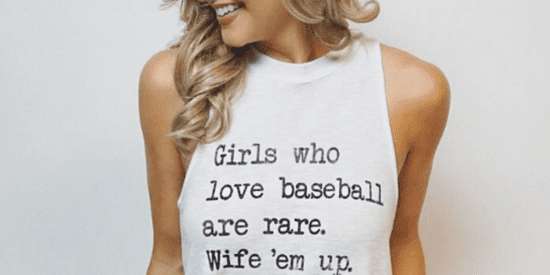 Girls Who Love Sports Are Basically Unicorns, According To Sexist T-Shirt