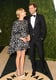 Diane Kruger and Joshua Jackson shared a laugh on the red carpet.