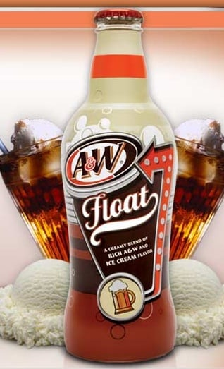 A&W Introduces New Line of Bottled Root Beer Floats