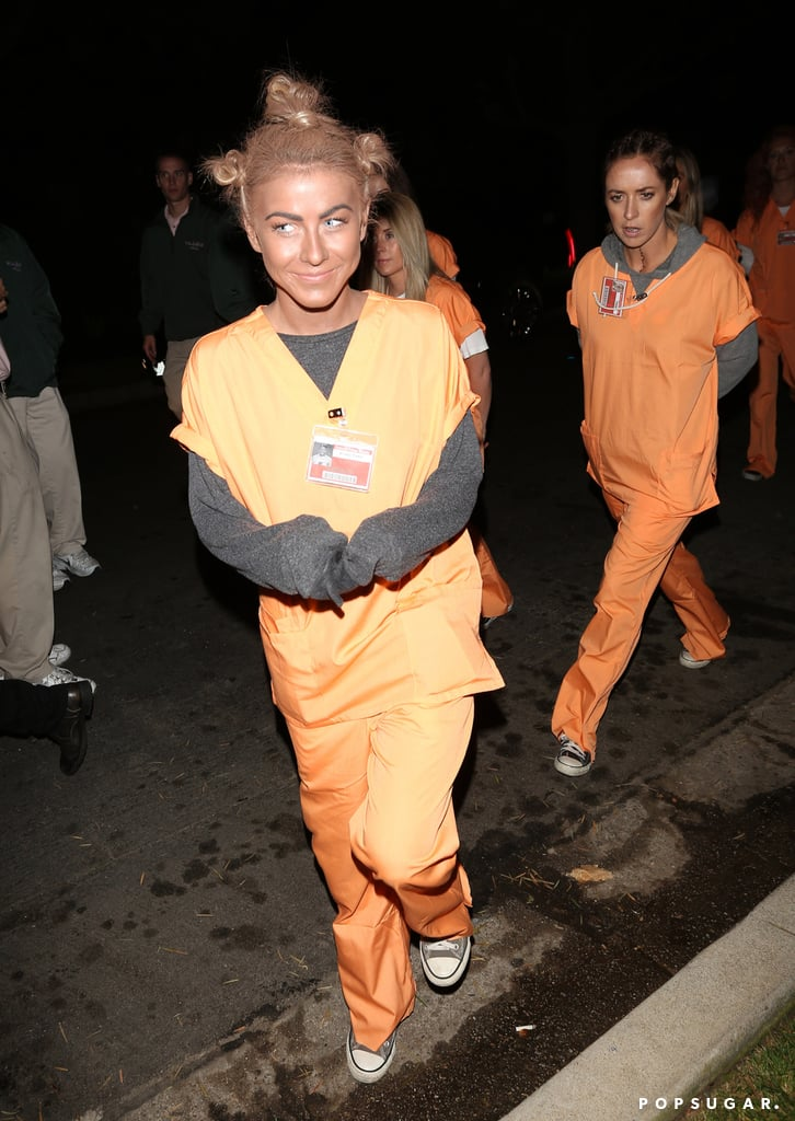 Julianne Hough dressed up as Crazy Eyes from Orange Is the New Black for the Casamigos Halloween Party, and she later apologized for her costume.