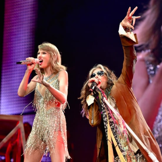Steven Tyler on Stage With Taylor Swift