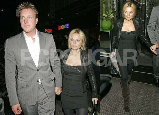 Photos of Geri Halliwell and Henry Beckwith