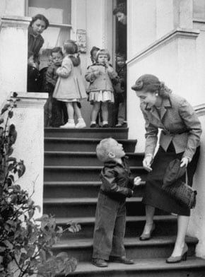 School Days Put Moms Back to Work