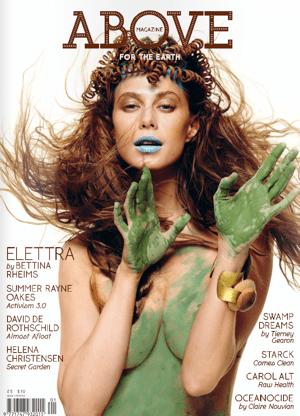 Elettra Wiedemann on Cover of Above Magazine 2010-05-23 11:34:37