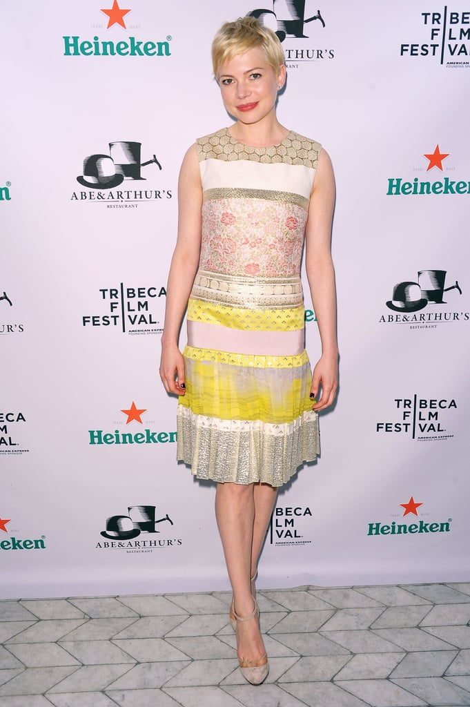 Michelle Williams calls upon Kate Young for styling tips and tricks for red-carpet affairs.