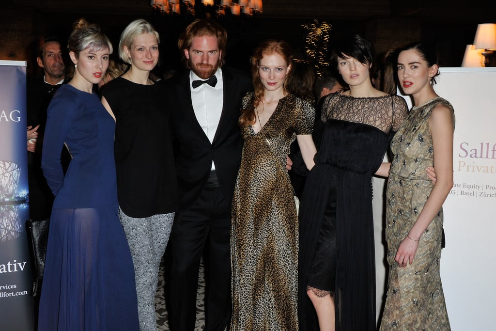 Paula Goldstein, Janina Joffe, Patrick Liotard-Vogt, Jessica Joffe, Ben Grimes and Rosa Connell
