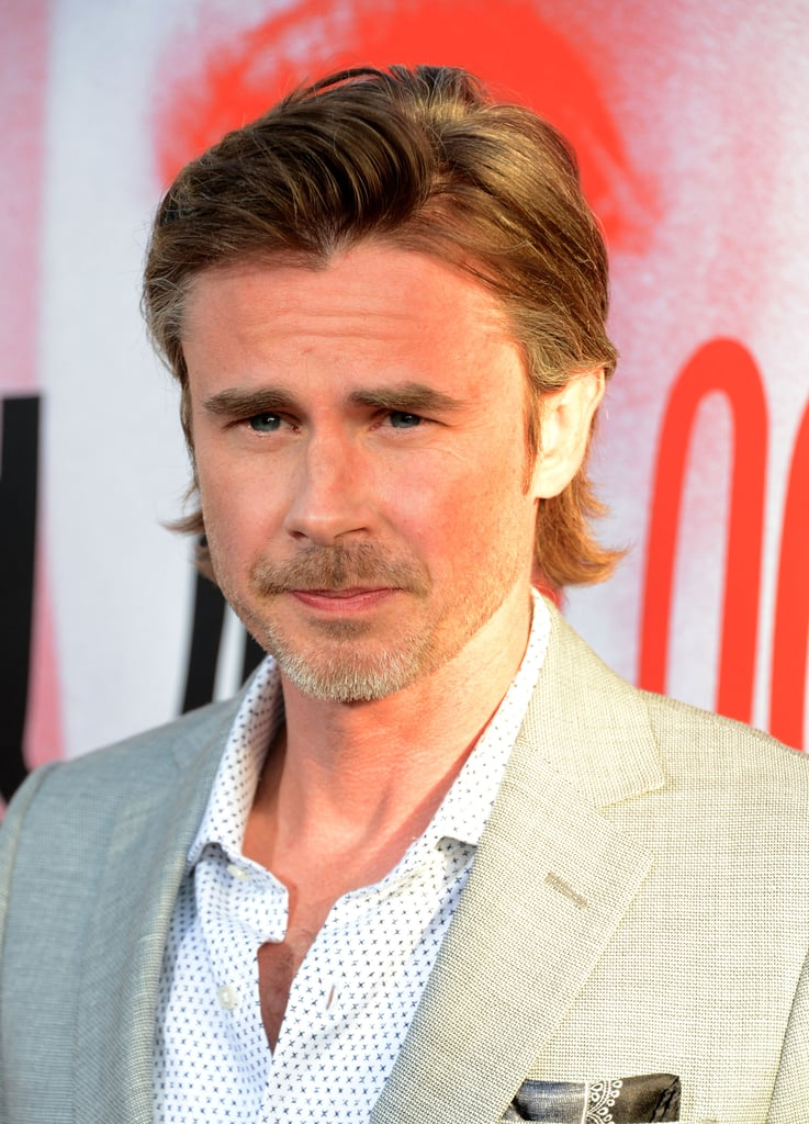 Sam Trammell walked the red carpet at the Arc Light in Hollywood.