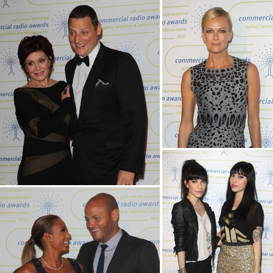 Aussie Radio Stars Hit The Red Carpet For 2012 Commercial Radio Awards