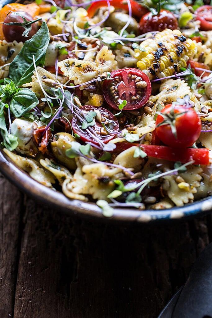 Everything-but-the-Kitchen-Sink Summer Pasta Salad