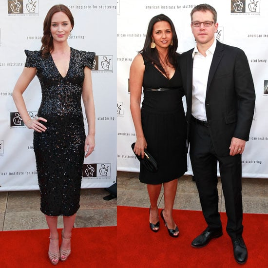 Matt Damon Pictures at Freeing Voices, Changing Lives Gala