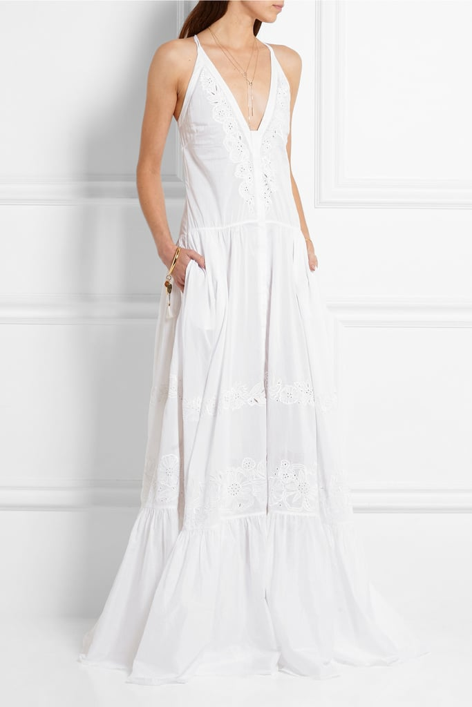 Roberto Cavalli Broderie anglaise cotton-voile gown ($3,650)
