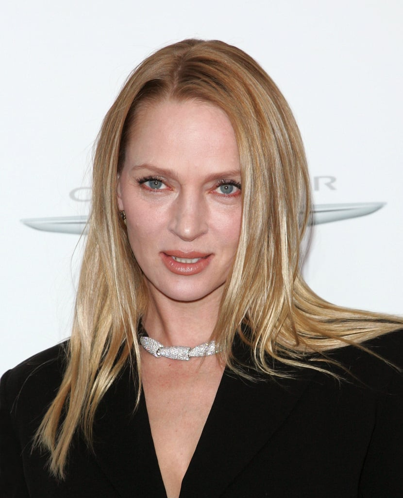 Uma Thurman stepped out in NYC to attend the Playing For Keeps premiere.