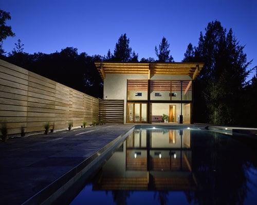 Coveted Crib: A Cool Calistoga Poolhouse