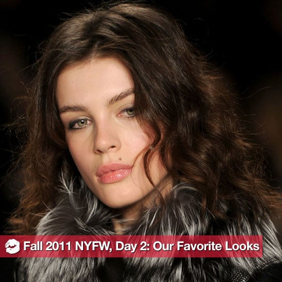 The Best Beauty Looks From Day Two of 2011 New York Fashion Week