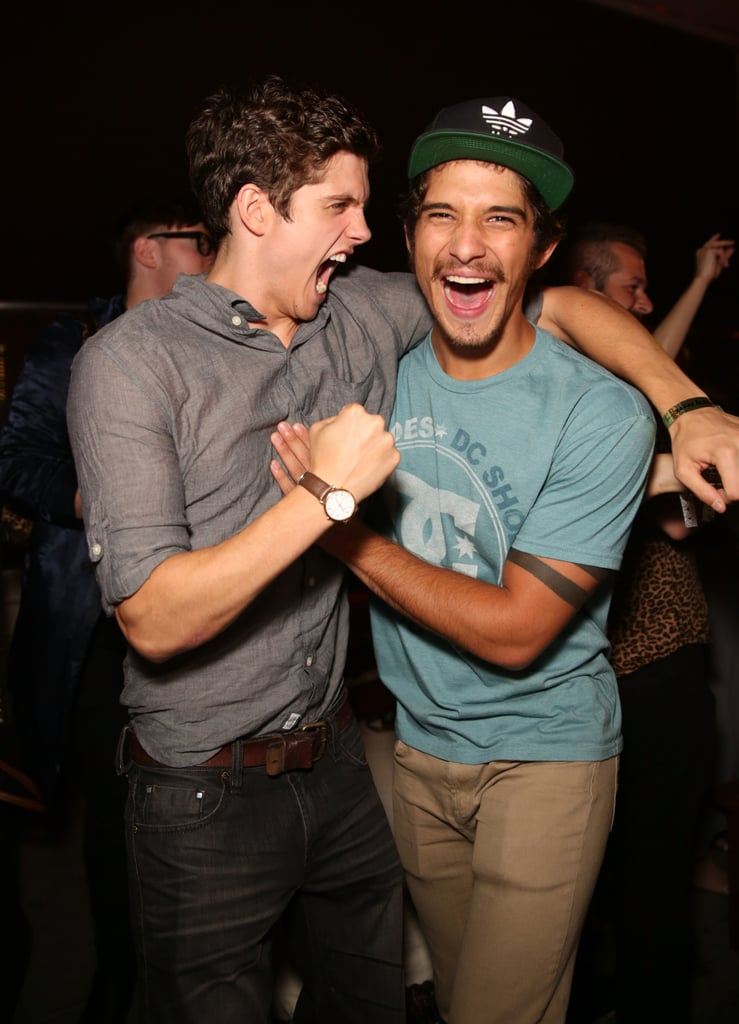 Teen Wolf stars Daniel Sharman and Tyler Posey had a boys' night out in 2013.