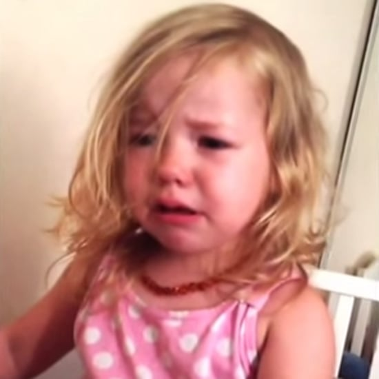 Little Girl Crying After Her Dad Steals Her Nose | Video