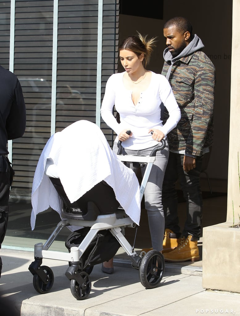 Guess Which Kardashian Is the Worst at Babysitting North West?