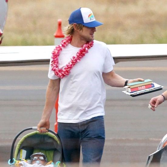 Owen Wilson Hangs With His Cool Kid, Robert