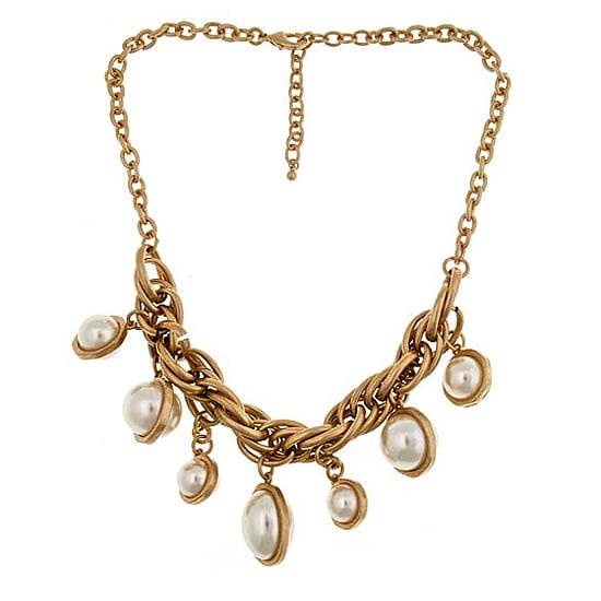 Blu Bijoux Faux-Pearl Drop Necklace, $46