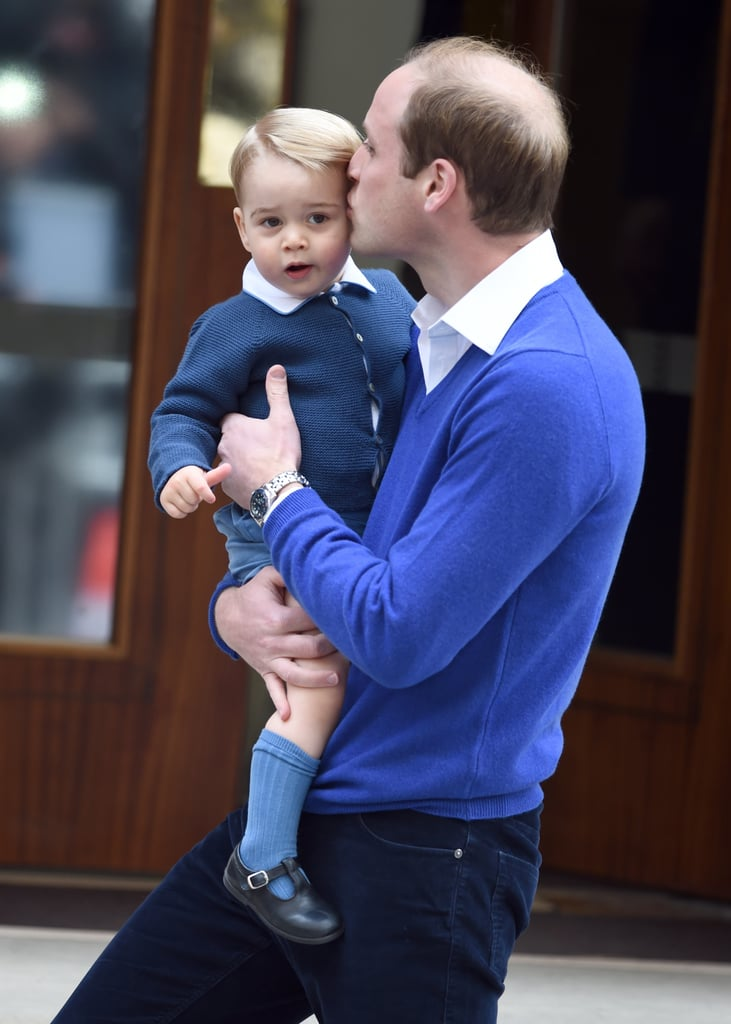When He Showed George Love on Princess Charlotte's Birthday
