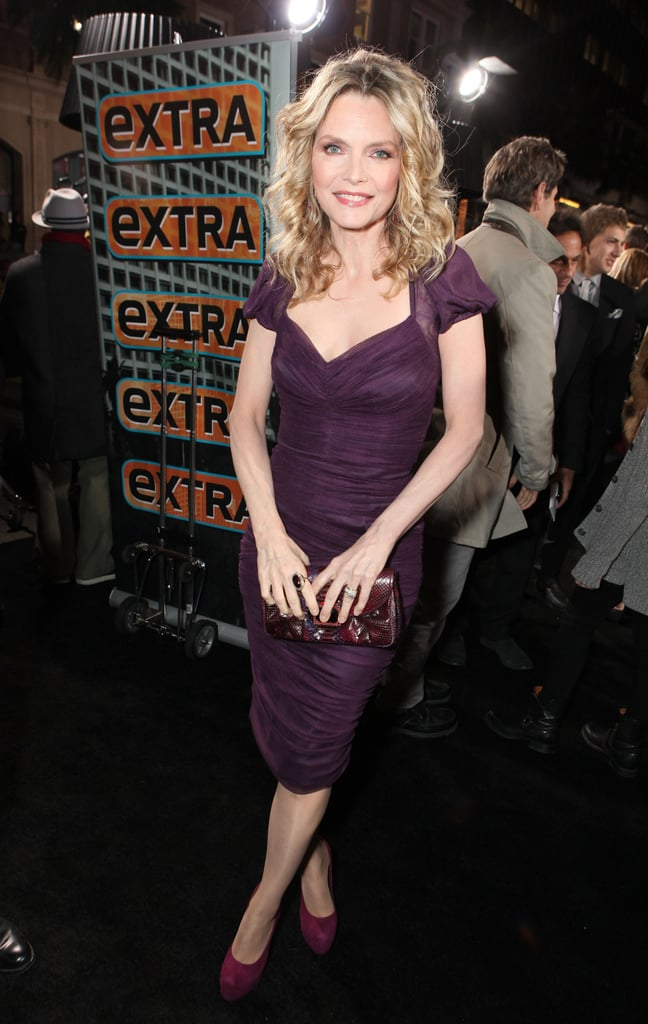 Michelle Pfeiffer at Grauman's Chinese Theatre.