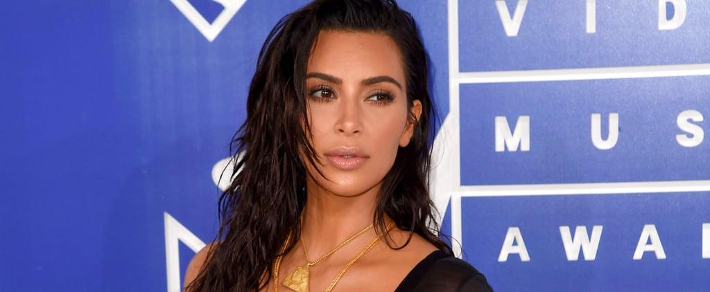 Kim Kardashian Gives Off Mermaid Vibes at the 2016 MTV VMAs