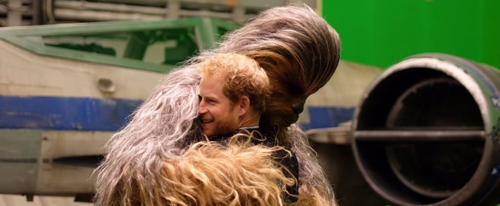 Prince William and Prince Harry Look Like Little Kids Again While Visiting the Star Wars Set