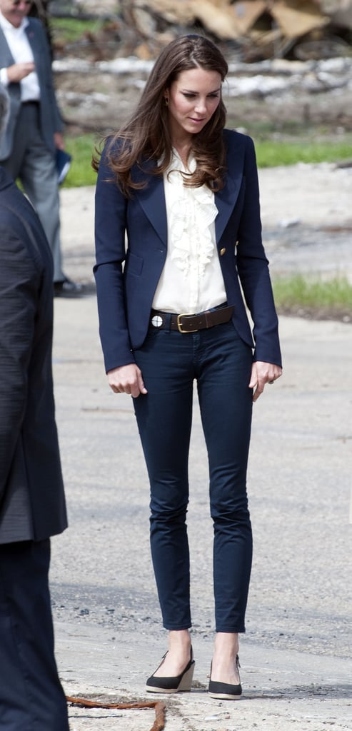 Kate Middleton in jeans in Canada.