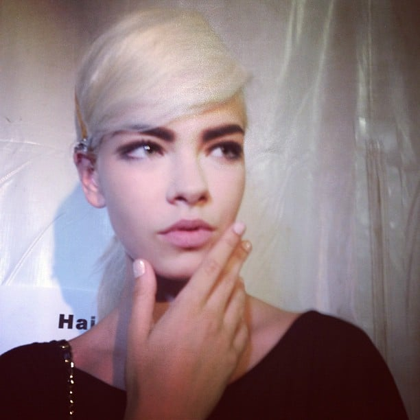 The muse for Marc Jacobs Spring 2013 beauty look was mod megastar Edie Sedgwick.
