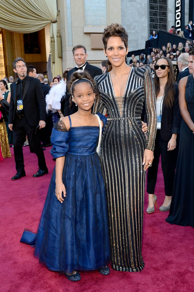 Quvenzhané Wallis and Halle Berry
