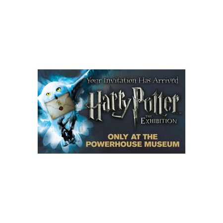 Tickets to Harry Potter: The Exhibition, Adults $32