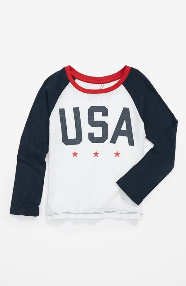 She can get in the all-star spirit, thanks to this sporty USA t-shirt ($38).