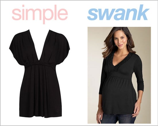 Simple or Swank: Maternity Tops