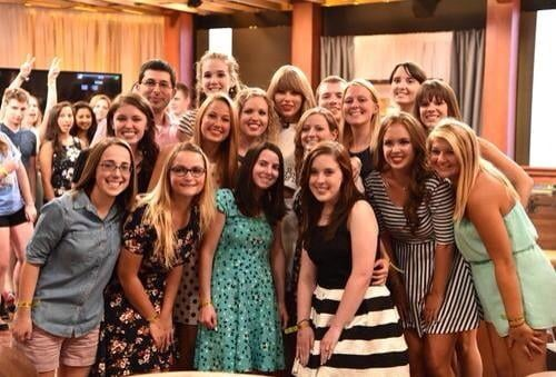 She Had a Pizza Party With Her Fans in Her Apartment . . .