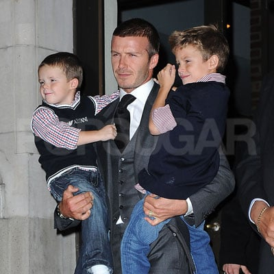 Arms Full of Beckhams