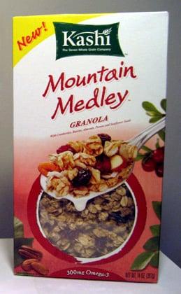 Free Sample Alert: Kashi Mountain Medley Granola