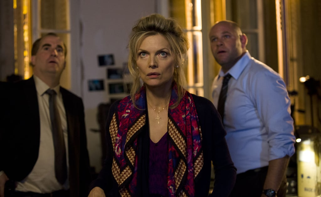 Jimmy Palumbo, Domenick Lombardozzi, and Michelle Pfeiffer in The Family. Source: EuropaCorp