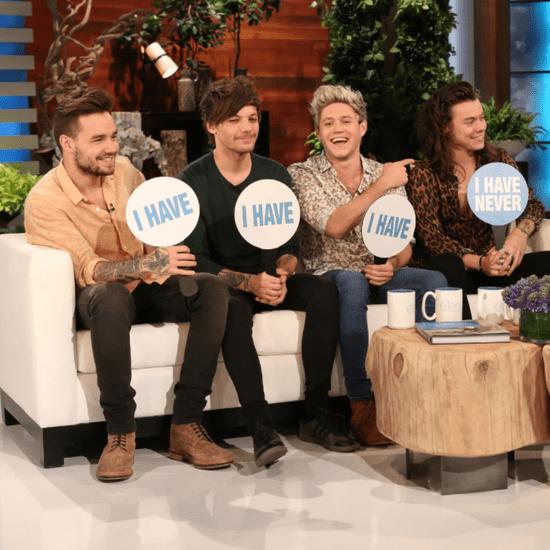 One Direction Plays Never Have I Ever on Ellen November 2015