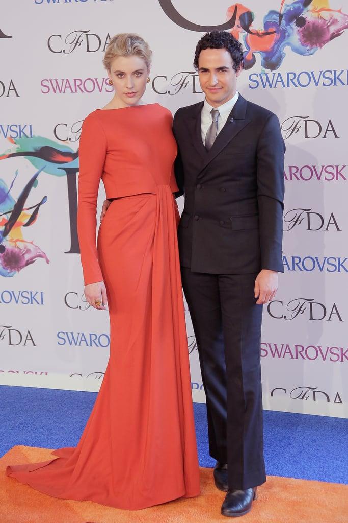 Greta Gerwig at the 2014 CFDA Awards
