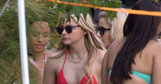 Chloë Grace Moretz Heats Up The Set Of 'Neighbors 2' In A Tiny Bikini