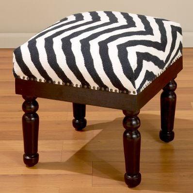 Steal of the Day: Zebra Kilim Stool
