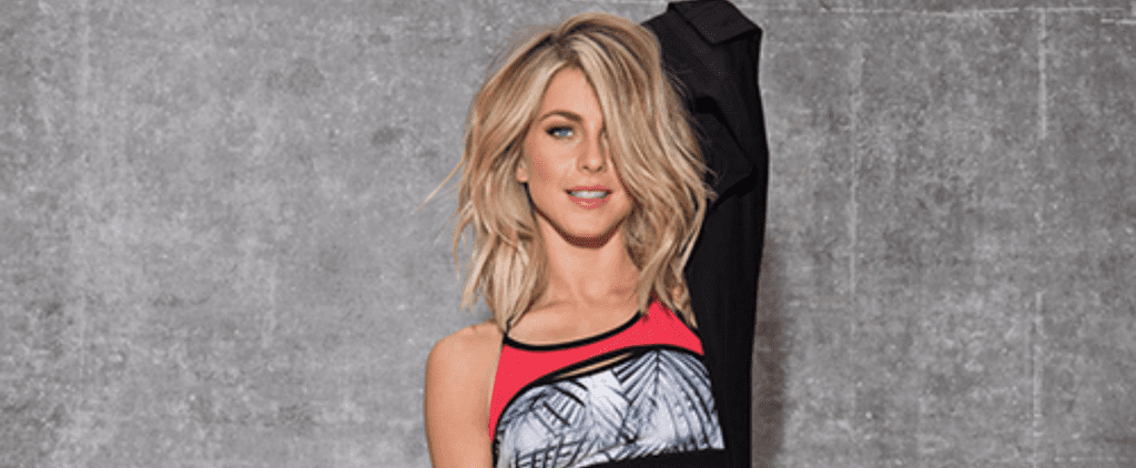 Julianne Hough's New Activewear Collection Will Give Your Workout Basics a Colorful Upgrade