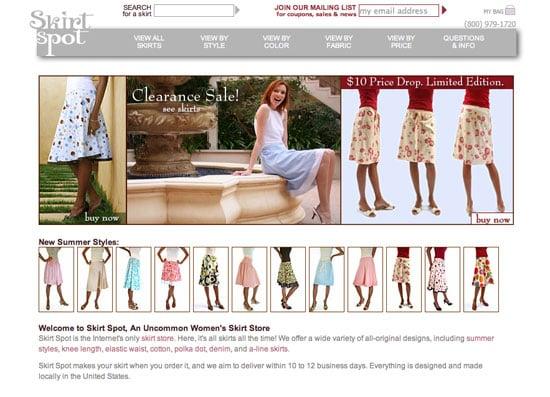 Fab Site: SkirtSpot.com