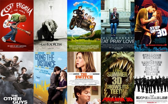 August 2010 Movie Releases