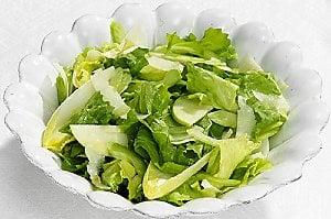 Wintery Side: Leafy Green Salad