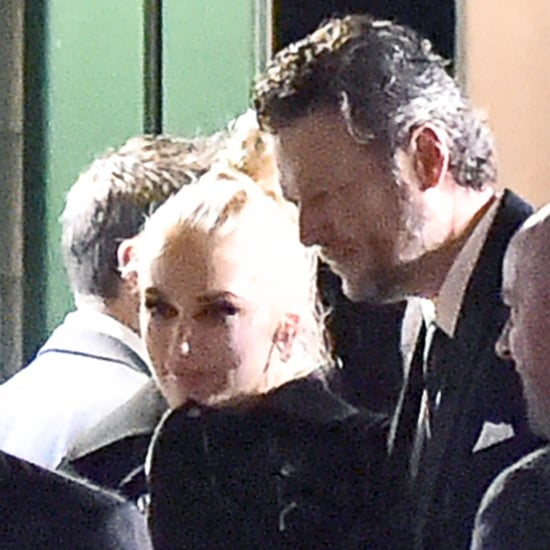 Blake Shelton and Gwen Stefani in Nashville January 2016