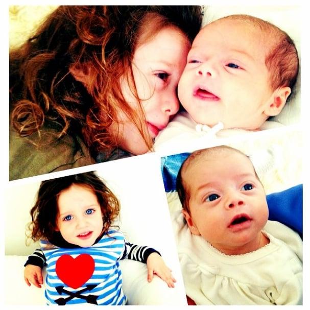 Rachel Zoe's sons, Kaius and Skyler, bonded. Source: Instagram user rachelzoe